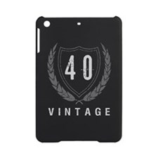 40th Birthday Laurels iPad Mini Case