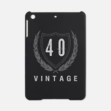 40th Birthday Laurels iPad Mini Case
