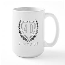 40th Birthday Laurels Mug