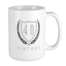 40th Birthday Laurels Mug