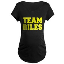 TEAM RILES Maternity T-Shirt