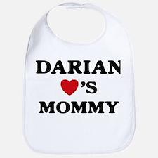 Darian loves mommy Bib