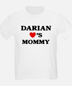 Darian loves mommy T-Shirt