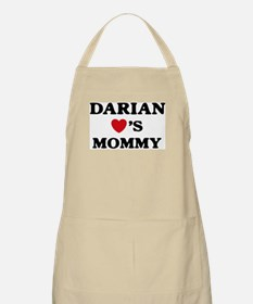 Darian loves mommy BBQ Apron