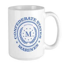 Confederate Marines (blue) Mugs
