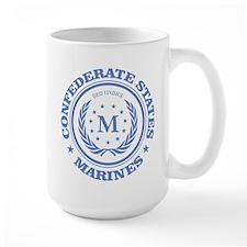 Confederate Marines (blue) Mugs