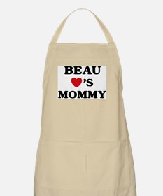 Beau loves mommy BBQ Apron