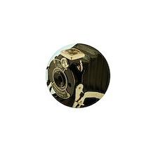 Vintage Camera Mini Button