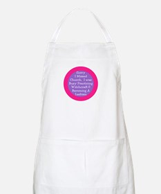 Sorry I missed church... BBQ Apron