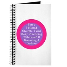 Sorry I missed church... Journal