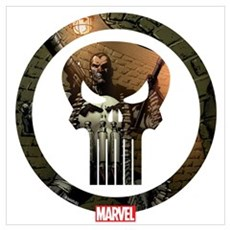 The Punisher Icon Wall Art Poster