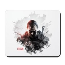 The Punisher Brush Mousepad