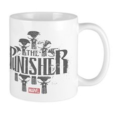 The Punisher Distressed Mug
