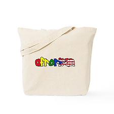 Cute Halfrican Tote Bag