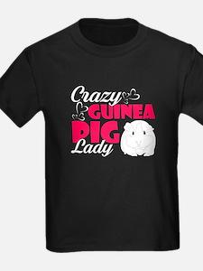 CRAZY GUINEA PIG LADY SHIRTS T-Shirt