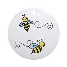 Bees Ornament (Round)