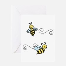Bees Greeting Cards