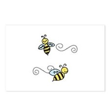 Bees Postcards (Package of 8)