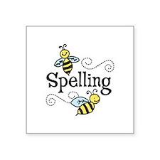 Spelling Sticker