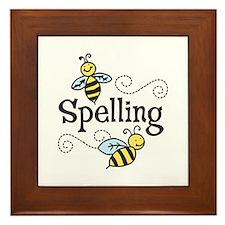 Spelling Framed Tile