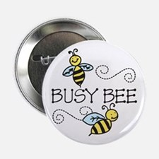 """Busy Bees 2.25"""" Button"""