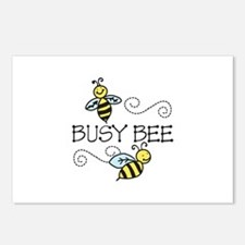 Busy Bees Postcards (Package of 8)