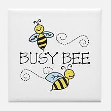 Busy Bees Tile Coaster
