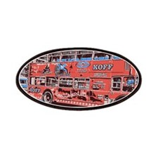 Red Bus Patches