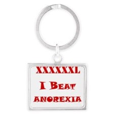 I conquered Anorexia Keychains