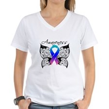 Thyroid Cancer Butterfly Shirt