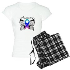 Thyroid Cancer Butterfly Pajamas