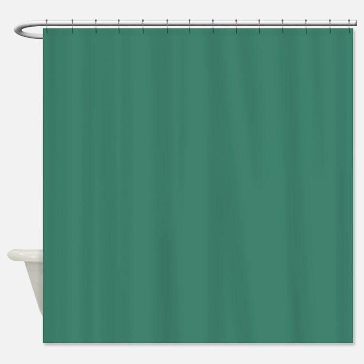 Viridian Shower Curtain