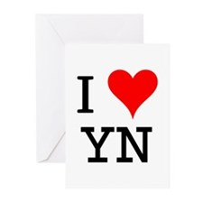 I Love YN Greeting Cards (Pk of 10)