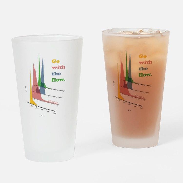 Cute Lab week Drinking Glass