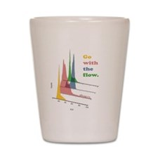 Funny Lab week Shot Glass