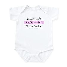 Worlds Greatest Physics Teach Infant Bodysuit
