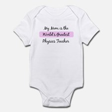Worlds Greatest Physics Teach Infant Bodysuit
