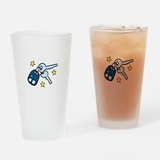 Car Keys Drinking Glass