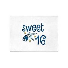 Sweet 16 5'x7'Area Rug