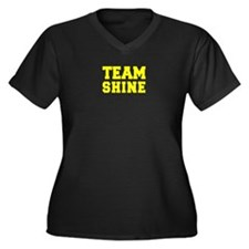 TEAM SHINE Plus Size T-Shirt