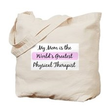 Worlds Greatest Physical Ther Tote Bag