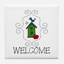 Welcome Tile Coaster