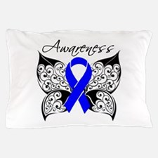 Rectal Cancer Butterfly Pillow Case