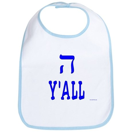 Hey Y'all Hebrew Bib