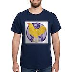 Buff Chantecler Cock Dark T-Shirt