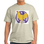 Buff Chantecler Cock Light T-Shirt