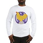 Buff Chantecler Cock Long Sleeve T-Shirt