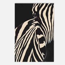 Beige Zebra Postcards (Package of 8)