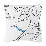 unknown.gif Woven Throw Pillow