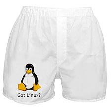 Got Linux Boxer Shorts